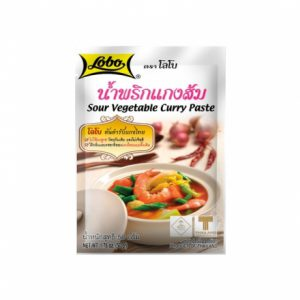 Sour Vegetable Curry Paste 50g