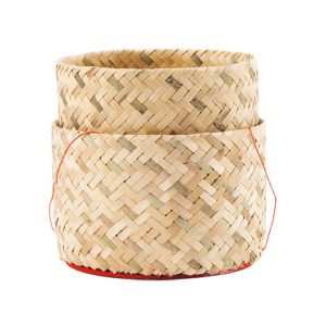 Bambukinė Lipnių Ryžių Dėžutė (Ø 13 cm)