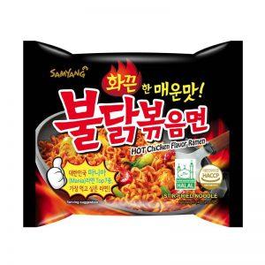 SAMYANG Greitai Paruošiami Ugniniai Makaronai Hot Chicken 140 G