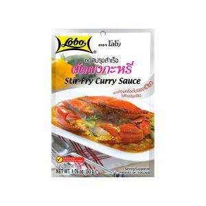 LOBO Stir-Fry Curry Sauce for Seafood