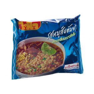 WAI WAI Instant Noodles Tom Yum Minced Pork