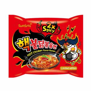SAMYANG Instant Noodles EXTRA (2X) Hot Chicken 140g