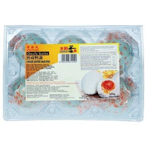 YOU YU SHI Cooked Salted Duck Eggs 6pcs