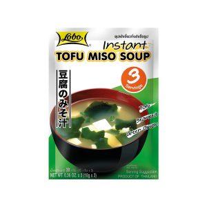 LOBO Greitai Paruošiamas Tofu Miso Sriubos Sultinys 3x10g