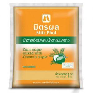 MITR PHOL Kokosų ir Cukranendrių Cukrų mišinys 1kg